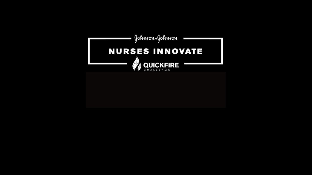 Nurse Innovate Quick Fire Challenge promo