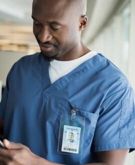 image of male nurse