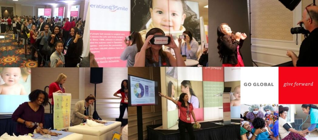 Collage of images from the Go Global convention